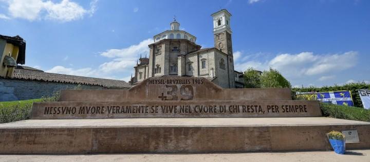 Monumento vittime Heysel
