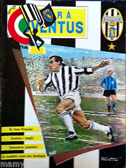 Copertina Hurrà Juventus anno 1964 N° 1