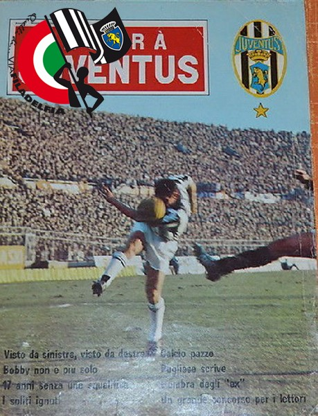 Copertina Hurrà Juventus 1966 n°1