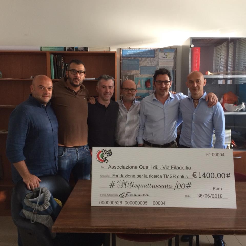 Donazione C.T.O. Giugno 2018
